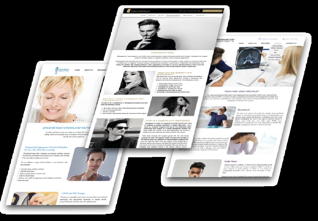 avanmed healthcare marketing websites and design